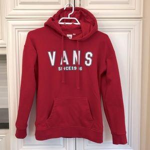 Vans woman's kangaroo pocket hoodie